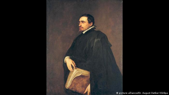 Portrait of Adriaen Moens by Anthonis van Dyck (picture alliance/Dr. August Oetker KG/dpa)