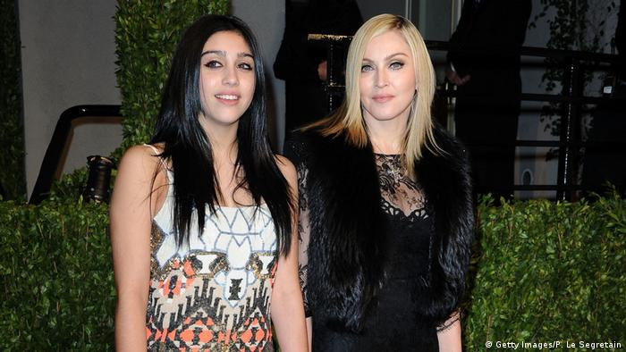Madonna with daughter Lourdes (Getty Images/P. Le Segretain)