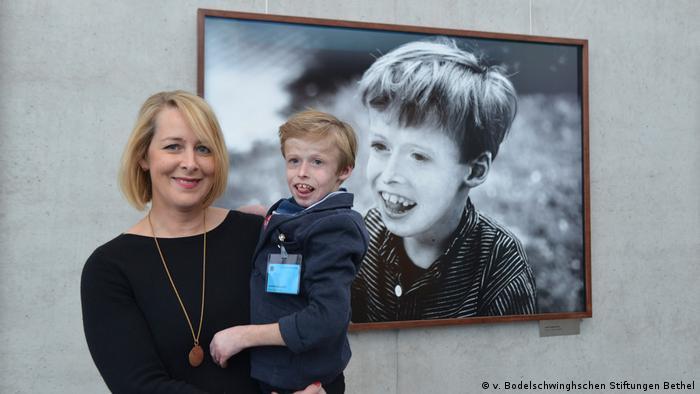 Jim Rakete's exhibition Wir sind viele   Katharina and Jakob Buddenberg (v. Bodelschwinghschen Stiftungen Bethel)