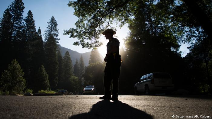 Park Ranger in USA (Getty Images/D. Calvert)