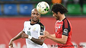 Gabun Afrika Cup 2017 Ghana vs. Ägypten