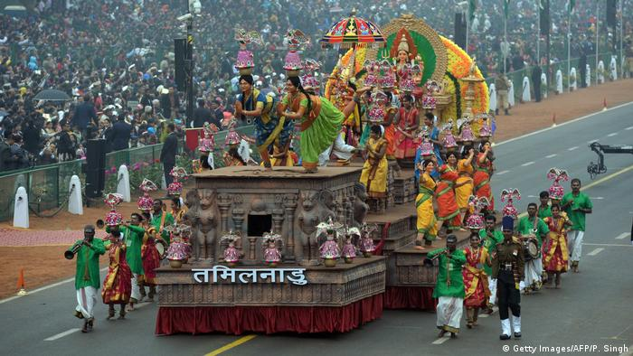 Indien | Feierlichkeiten zum India Republic Day (Getty Images/AFP/P. Singh)