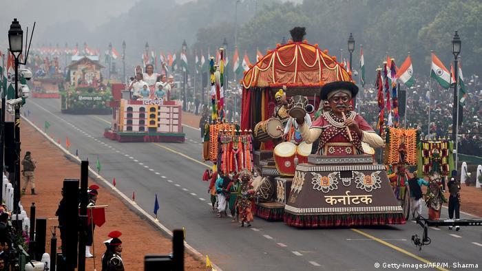 Indien | Feierlichkeiten zum India Republic Day