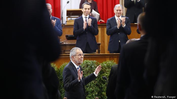 Van der Bellen takes office as Austrian president | News | DW ...