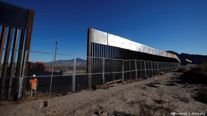 Grenzanlagen USA Mexiko