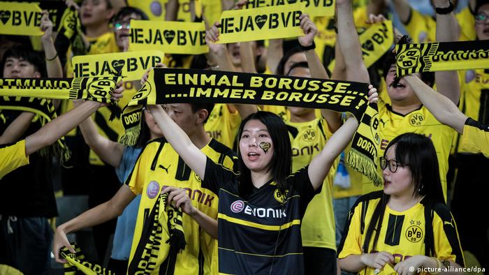 China | International Champions Cup China | Manchester United vs Borussia Dortmund
