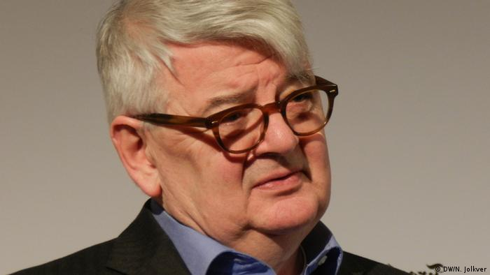 Joschka Fischer in 2017 at the Frankfurther Allgemeine Forum