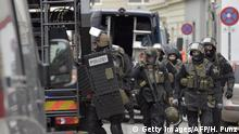 04.01.2017****Police commandos raid the club house of the Hells Angels in Vienna, Austria on January 4, 2017. A German murder suspect was arrested during the raid. / AFP / APA / HANS PUNZ / Austria OUT (Photo credit should read HANS PUNZ/AFP/Getty Images)