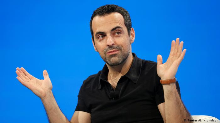 FILE PHOTO - Xiaomi Vice President Hugo Barra speaks at the WSJD Live conference in Laguna Beach (Reuters/L. Nicholson)