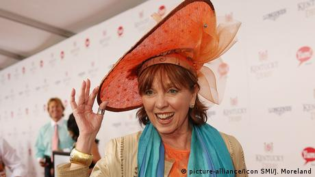 USA Autorin Nora Roberts beim Kentucky Derby (picture-alliance/Icon SMI/J. Moreland)