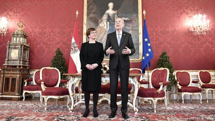 Österreich Amtsantritt Bundespräsident Alexander van der Bellen in Wien (Getty Images/AFP/H.-K. Techt)