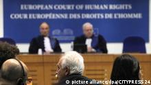 STRASSBURG - FRANKREICH - 15.10.2015 - POLITIK - Dogu Perincek gewinnt vor dem Europaeischen Gerichtshof fuer Menschenrechte: Dessen Grosse Kammer best   Verwendung weltweit
