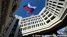 Krim Simferopol Parlamentsgebäude