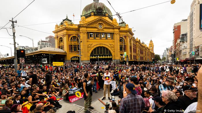 Melbourne Australia Day (Getty Images/C.Hopkins)