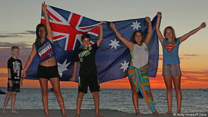 Australia Day Fremantle (Getty Images/P.Kane)