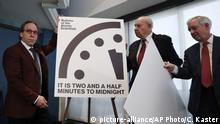 Doomsday Clock Update 2017 Atomkriegsuhr