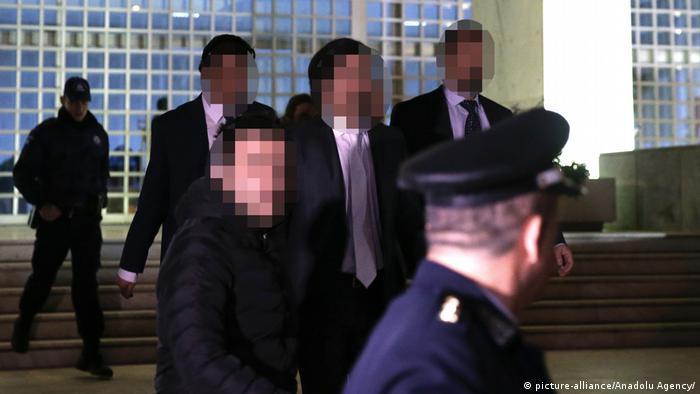 Griechenland Prozess Soldaten aus der Türkei (picture-alliance/Anadolu Agency/A. Mehmet)