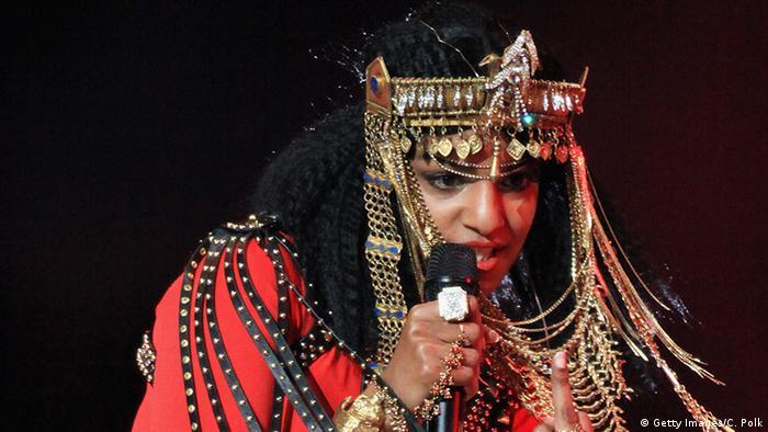 Super Bowl 2012 - Auftritt M.I.A. (Getty Images/C. Polk)