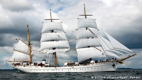 Segelschulschiff Gorch Fock (picture-alliance/dpa/C. Rehder)