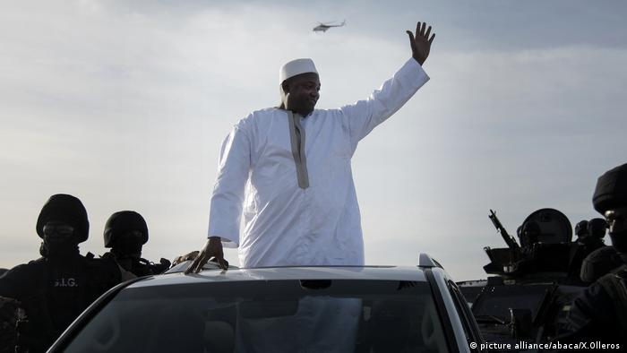 Gambia's new President Adama Barrow (picture alliance/abaca/X.Olleros )