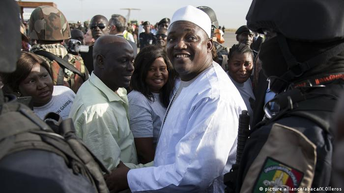 Gambia's new President Adama Barrow (picture alliance/abaca/X.Olleros)