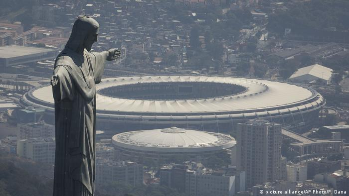 Brasilien Maracana (picture alliance/AP Photo/F. Dana)