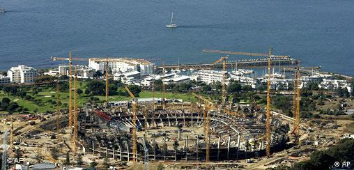 Stadium construction in Cape Town
