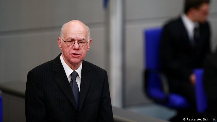 Deutschland Holocaust Gedenkstunde des deutschen Bundestages Rede Lammert (Reuters/A. Schmidt)