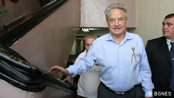 Bulgarien George Soros, Gründer der Organisation Open Society