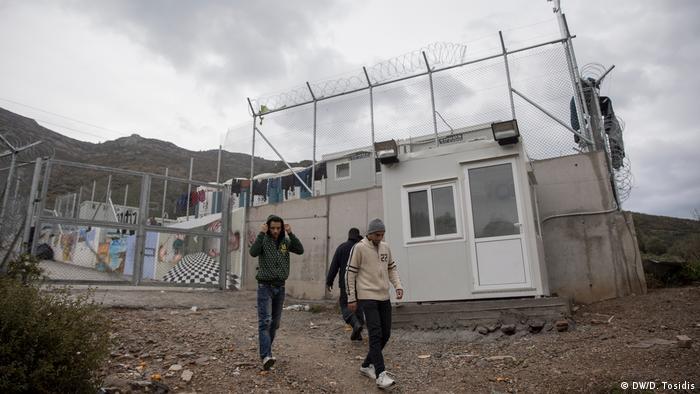 Griechenland Flüchtlinge auf der Insel Samos - Flüchtlingslager
