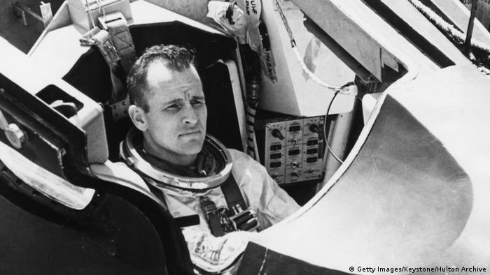 Test pilot and astronaut Edward H. White (Getty Images/Keystone/Hulton Archive)