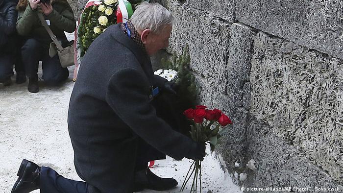 Polen Auschwitz Holocaust Gedenktag (picture-alliance/AP Photo/C. Sokolowski)
