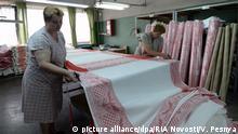 Weißrussland Leinenproduktion