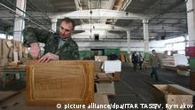 Weißrussland Möbelproduktion in Minsk
