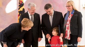 Deutschland Entlassung und Ernennung von Bundesministern