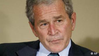 George W. Bush. Quelle: ap