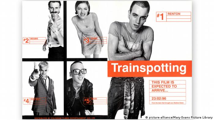 TRAINSPOTTING poster (picture-alliance/Mary Evans Picture Library)