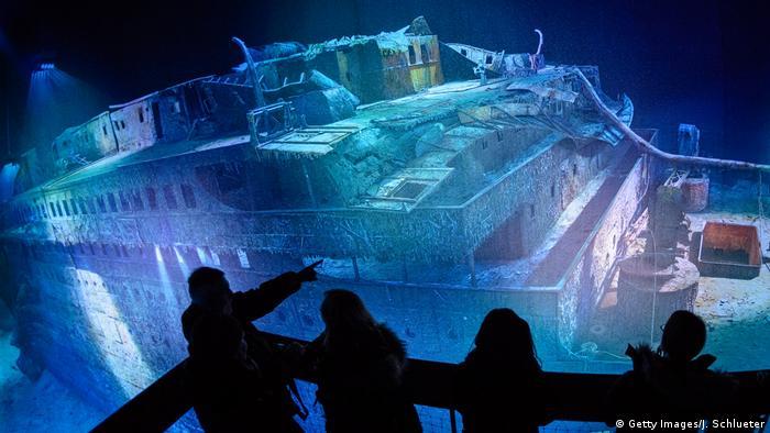 Панорамна виставка, присвячена катастрофі Титаніка (архівне фото)