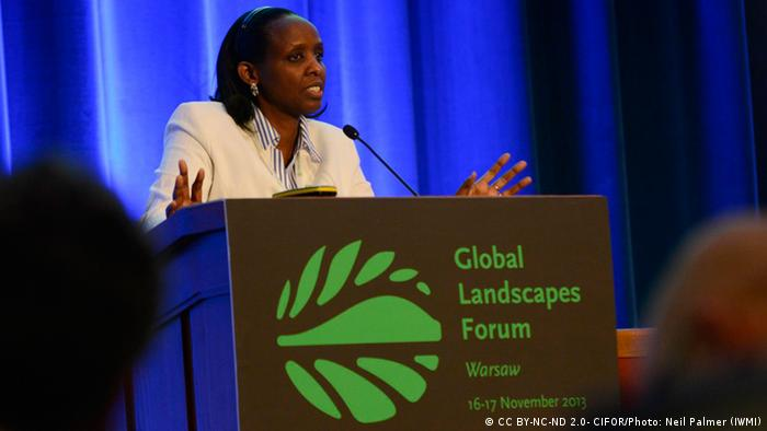 La presidenta de la AGRA, Agnes Kalibata.