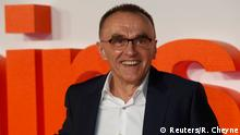 22.01.2017 *** Director Danny Boyle poses as he arrives at the world premiere of the film T2 Trainspotting in Edinburgh, Scotland, Britain, January 22, 2017. REUTERS/Russell Cheyne