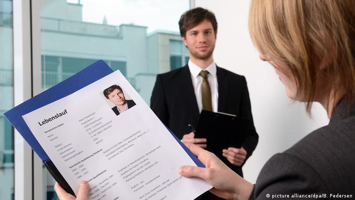 A German job interview