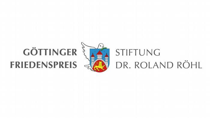 Logo Göttinger Friedenspreis Stiftung Dr. Roland Röhl