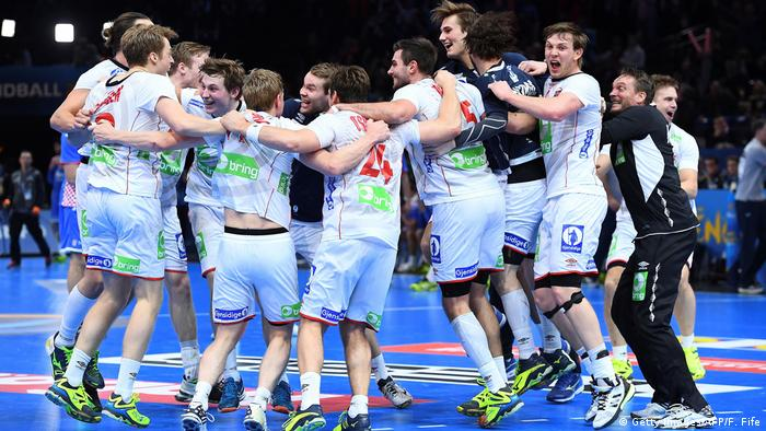 Handball Kroatien vs. Norwegen (Getty Images/AFP/F. Fife)