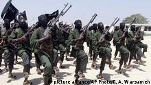 Somalia Al-Shabaab Kämpfer