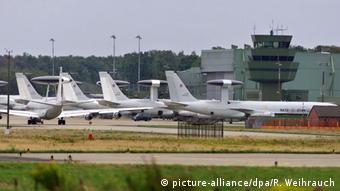 Deutschland NATO Stützpunkt Geilenkirchen