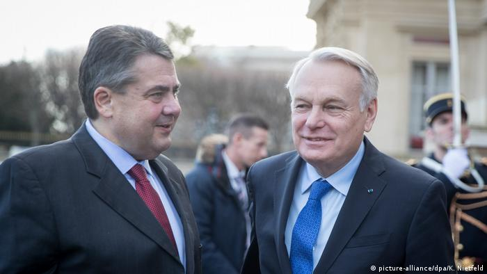 Bundesaußenminister Gabriel in Paris (picture-alliance/dpa/K. Nietfeld)