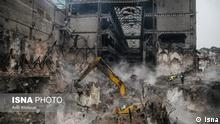 TeheranPlasco nach der Entfernung der Trümmer.