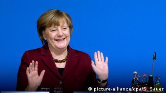 CDU Mecklenburg-Vorpommern Merkel als Direktkandidatin nominiert