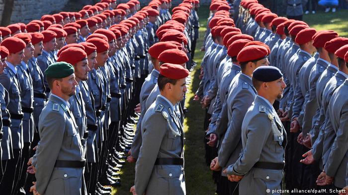 Deutschland Bundeswehr Rekruten