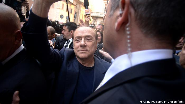 Italien Silvio Berlusconi (Getty Images/AFP/F. Monteforte)